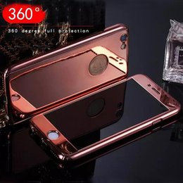 Wholesale Protective Plastic Bumper - Ultra-thin Hybrid 360 Degree Full Body Coverage Protective Bumper Slim Hard Case cover for cell phone iphone 7 plus 8 iphone x s8 plus
