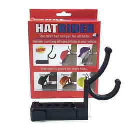 Ganchos de plástico para colgar online-Hatrider Pothook moderno Fácil de llevar Gancho de plástico Resuable Eco Friendly Car Hat Hanger Venta directa de fábrica 11cs B