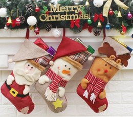 Wholesale Cake Ornament - Europe and United States sell like hot cakes Christmas stocking ornaments, festive decorations, Christmas decorations, Christm and Christm