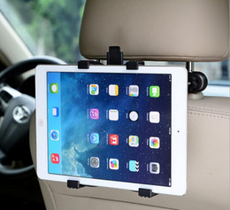Wholesale Headrest Ipad Holder - Universal Car Back Seat Headrest Mount Holder Clip Bracket For iPad 3 4 5 Tablet SAMSUNG tab Tablet PC Stands