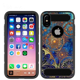 Wholesale Carbon Fiber For Heating - Retailing Brand new high heat dissipation phone case for iphone8 thin section Carbon fiber pattern personality cover PC combine with TPU