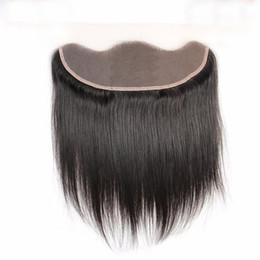 Argentina Hair Company Frontal del cordón del pelo virginal brasileño recto del cordón del cierre frontal 13x4 oído a la oreja del cordón frontal cierre envío gratis Suministro