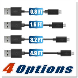 Wholesale Blackberry Iphone Sync - Premium 2A High Speed Micro USB Cable Type C cables 4 choices of lengths Sync Quick Charging USB 2.0 for Samsung S7 S8 Android smart phone