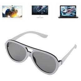 Großhandel - Passive 3D-Brille mit polarisierten Kunststofflinsen für TV Cinema Movie Fashion von Fabrikanten