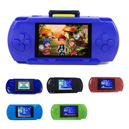 """Wholesale Pocket Game Player - PVP Handheld Game Console 8 Bit 2.5"""" LCD Digital Pocket System PVP 3000 Video Game Player TV Out With Game Card"""