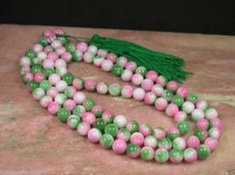 Wholesale Chinese Coral Beads - CHINESE Natural 8mm JADE 108 Bead Beads Necklace