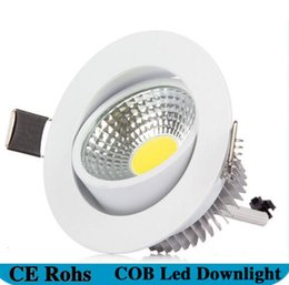 Wholesale High Power Led Indoor - High Power Dimmable COB Downlight Led Light Ceiling Lamp 5W 6w 7W 12w COB Led Recessed Indoor Lighting with Led driver
