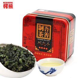 Wholesale Foods Can - C-WL064 Healthy 155g 10 packs Superior Chinese TiKuanYin Green Tea,TieGuanYin Oolong Tea, Green Food Gift Packing Iron cans Packing