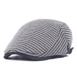 Wholesale Mens Newsboy Caps - Wholesale- 2016 Fashion Winter Beret Mens Hat Visor For Women Outdoor Warm Men's Beret Cap Gorras Female Newsboy Hats Flat Vintage With Ear