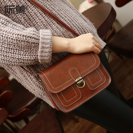 Wholesale Crochet Mobile - 2016 new Korean small lady car line retro fashion handbag shoulder bag messenger small mobile phone