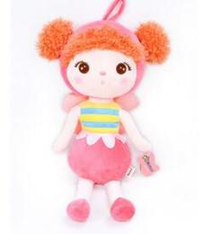 унисекс детские одеяла вязание крючком Скидка Плюшевые игрушки животные Милый рюкзак кулон детские детские игрушки для девочек день рождения Рождество Keppel кукла Панда MeToo кукла