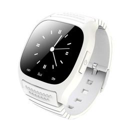 Смарт-часы M26 Sport Bluetooth Смарт-Часы со светодиодной Alitmeter Музыкальный плеер Шагомер Для Apple IOS Android Windows Смартфон от Поставщики смарт-часы bluetooth windows phone
