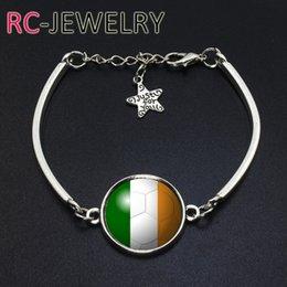 Deutschland Europäischen Stil Republik Irland Flagge Armband WM Armband heißen Abschnitt kann angepasst werden Paar Armband Versorgung