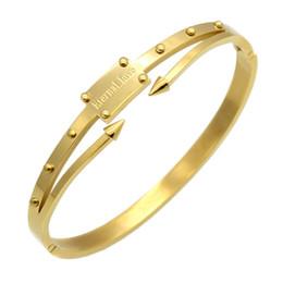 Canada Pulseira Feminina Bracelet Or Couleur Bracelets Bracelets Pulseiras En Acier Inoxydable Vis Bracelet Femmes Amour Éternel Bijoux supplier eternal jewelry Offre