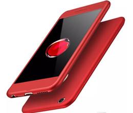 Celulares chineses on-line-2017 caso chinês vermelho para iphone 7/7 plus celular case produto vermelho edição especial cobertura total de 360 graus com pacote de saco de opp