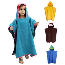 Wholesale Swim Robes - Suncity Baby Cotton Cute Animal Bathrobe Swimming Bath Towels Nightgown High Quality Cotton Wholesale