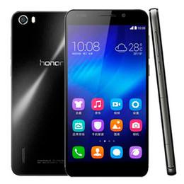 Wholesale Original 4g Huawei Smart Phones - Refurbished Original Huawei Honor 6 5.0 inch 4G LTE Hisilicon Kirin 920Octa Core1.7GHz 3GB RAM 16 32GB ROM Android Smart Mobile Phone DHL