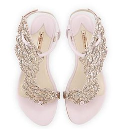Shop open toed flat wedding shoes uk open toed flat wedding shoes women flats sandals drill butterfly sweet rhinestone summer buckle strap ladies shoes princess wedding shoes cut out toe shoes junglespirit Image collections