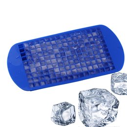 Wholesale Cook Tools - 160Grids Small Ice Cream Mold Cube Mold Square Shape Silicone Ice Tray Fruit Ice Cube Maker Bar Kitchen Cooking Tool Accessories