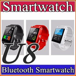 Wholesale Cheap Android Smart Watches - 40X DHL free shipping 2016 Factory wholesale cheap U8 smartwatch DZ09 GT08 A1 Bluetooth Smart Wrist for Android Samsung Watch Phone A-BS