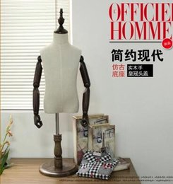 Wholesale Makeup Practice Mannequin Heads - FreeShipping! 10 colour Mannequins bust for child,half body without hand mannequin Dummy ,cloth mannequin head for makeup practice,M00092