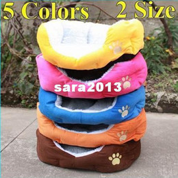 Wholesale Kennel Blanket - CHOOSE 5 COLORS Sizes Wholesale Pretty Dog Bed Cat bed pet House Sofa Kennel Washable Free Shipping.