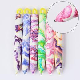 Wholesale Diy Nail Magic - Wholesale-1 Pc Nail Art Tool Magnet Pen for DIY Magic 3D Magnetic Polish UV Gel Polish Cats Eyes Colourful Nail Art Pen