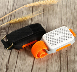 Wholesale Arms Small - Bluetooth Sports Music Portable Mini Sport Arms Speaker TF Card FM Audio Radio Speakers Handsfree function Small is Beautiful Speaker DHL