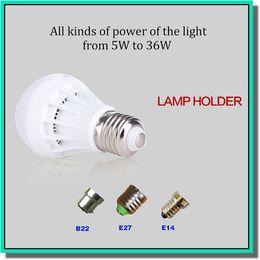 Wholesale E27 7w Led Globe - 220V LED Bulb E27 E14 B22 Globe Bulbs Lights 3W 5W 7W 9W SMD2835 LED Light Bulbs Pure White Super Bright Light Bulb Energy-saving Light