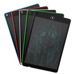 optischer maussensor mini Rabatt Neue 12-Zoll-Graffiti-LCD-Schreibens-Tablette für Studenten-Zeichnungs-Tablette für Kinder Digital Handwritting Pads Entwurf mit Kleinkasten geben DHL frei