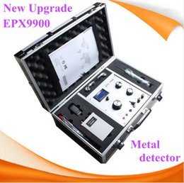 Wholesale Under Ground Gold Detector - EPX9900 Under ground gold scanner machine with Treasure hunting metal detector Gold Diamond Silver Copper Metal Detector