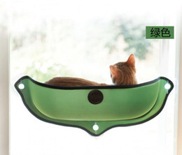 Wholesale Media Seating - Puppy Pet Hammock Suction Pad Window Mounted Cat Bed Sunny Seat Machine Pet Hanger Bed Pet