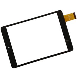 Wholesale mf black - Wholesale- 8 Inch Black Touch Screen OEM Compatible with MF-801-079F FPC for Table PC Glass Panel Sensor Digitizer Replacement Touchscreen