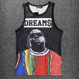 Wholesale 2pac Tank Top - Wholesale- New Harajuku 2Pac Tank Top Men Hip Hop Man Singlet Swag Rock Roll Sleeveless Clothing Fit Casual Vest Teenager Clothes