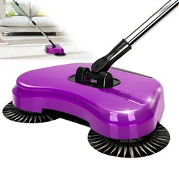 Wholesale Home Electricity - Magic Manual Telescopic Hand Push Sweeper Broom Lazy 360 Rotary Sweeping Cleaner without Electricity for Household