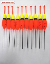 Wholesale Balsa Floats - Wholesale- Newdonghui 10pcs Pack Fishing Float Fishing Bobber Balsa Wood Material Buoyancy 0.7g Oem Factory Store 201196