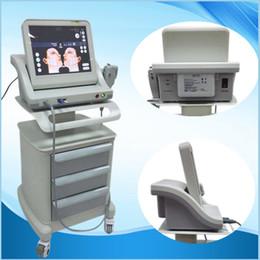Wholesale Beauty Care System - NEW High Intensity Focused Ultrasound HIFU Tightening Skin Care System Wrinkle Removal Anti-Puffiness Beauty Machine Spa salon equipment