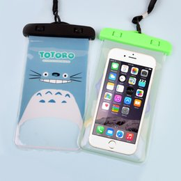 Wholesale Ipx8 Waterproof Case - Universal Cartoon Promotional IPX8 Pvc Waterproof Phone Case Pouch Water proof Surfing Diving Swimming Underwater Bag For iPhone Samsung