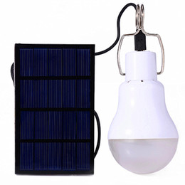 Wholesale Solar Energy Wholesale - New Arrival S-1200 15W 130LM Portable Led Bulb Garden Solar Powered Light Charged Solar Energy Lamp High Quality Free Shipping