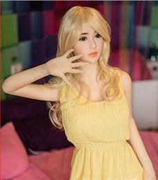 Wholesale Sexy Big Size Breast - Lala The Real Silicone Sex Dolls Robot Japanese Anime Oral Love Doll Realistic Toys For Men Big Breast Sexy 158cm Vagina Adult Life Full