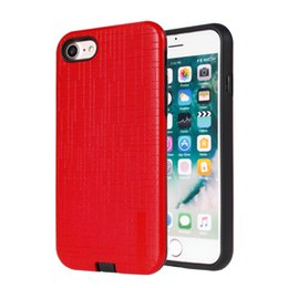 Wholesale Orange Spiderman - Armor Hybrid PC TPU Case Metal paint Spiderman For iphone x 8 PLUS For iphone 7 plus Shockproof Rugged Back Phone Cover