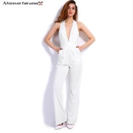Wholesale Cheap Bridal Pant Suit - Ivory Mother's Suit 2016 Cheap Modest Mothers Formal Wear New Arrive Deep V Neck Hater Backless Zipper Floor Length CUstom Made For Bridal