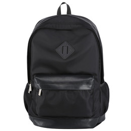 Wholesale Travel Backpack Cooler - Wholesale- BOPAI Men Backpack Business Mens Travel Backpack Lighweight Black Cool Backpacks Cheap Small Backpack Bags Waterproof Daypack