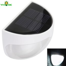 Wholesale Auto Dimming - Wholesale- Battery Included Solar Led Night Light 6 LEDs Inside Suitable for Home Roof Decoration Auto On   Off When Dim   Dawn