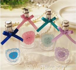 Ücretsiz kargo Toptan Avrupa şampanya şişesi şeker kutusu yaratıcı modeller şeffaf dantel şeker Düğün şampanya şişesi nereden