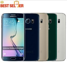 "Wholesale Wholesale 4g Lte Cell Phones - Refurbished Original Samsung Galaxy S6 Edge G925 Cell Phone Octa Core 3GB RAM 32GB ROM 4G LTE 16MP 5.1"" Unlocked refurbished phone"