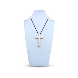 Wholesale Interior Decoration Accessories - Car Decals Christian Cross Emblem Badge Auto Interior Hanging Pendant Decoration High Quality