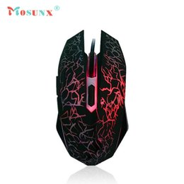 Wholesale Factory Optical - Wholesale- Factory Price Professional Colorful Backlight 4000DPI Optical Wired Gaming Mouse Mice Mmar18
