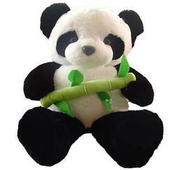 "Brinquedo material panda gigante on-line-GIGANTE GRANDE GRANDE 20 ""/ 50 cm PANDA BEAR STUFFED PLUSH ANIMAL TOY"