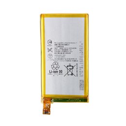 Wholesale Battery For Xperia Mini - High Quality 3.8V 2600mAh Rechargerable Li-Polymer Battery LIS1561ERPC For SONY Xperia Z3 mini Compact M55W D5833 SO-02G